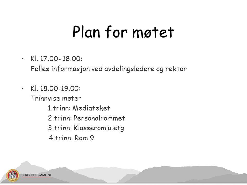 Plan for kvalitetsutvikling for bergensskolen 2012-16 Kommunikasjon: Skolen setter opp egne mål/standarder Lokale tilpasninger Mulige fokusområder: - språk - samarbeid hjem- skole
