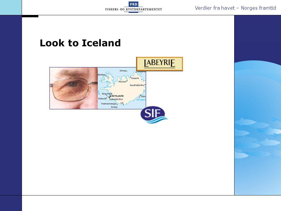 Verdier fra havet – Norges framtid Look to Iceland