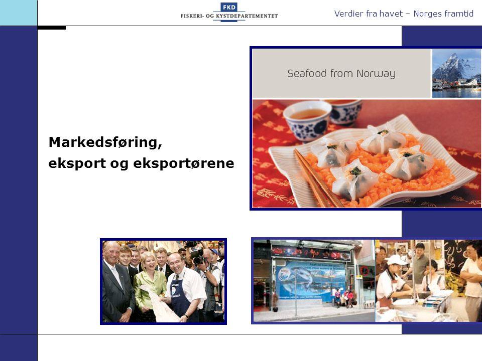 Verdier fra havet – Norges framtid Markedsføring, eksport og eksportørene