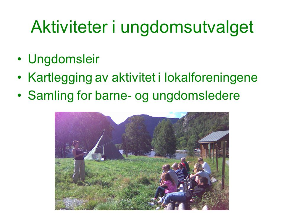 Ungdomsleir Leir i Oltesvik 2008 –6-9 klasse –Fisking, padling, lavo, grilling med mer.
