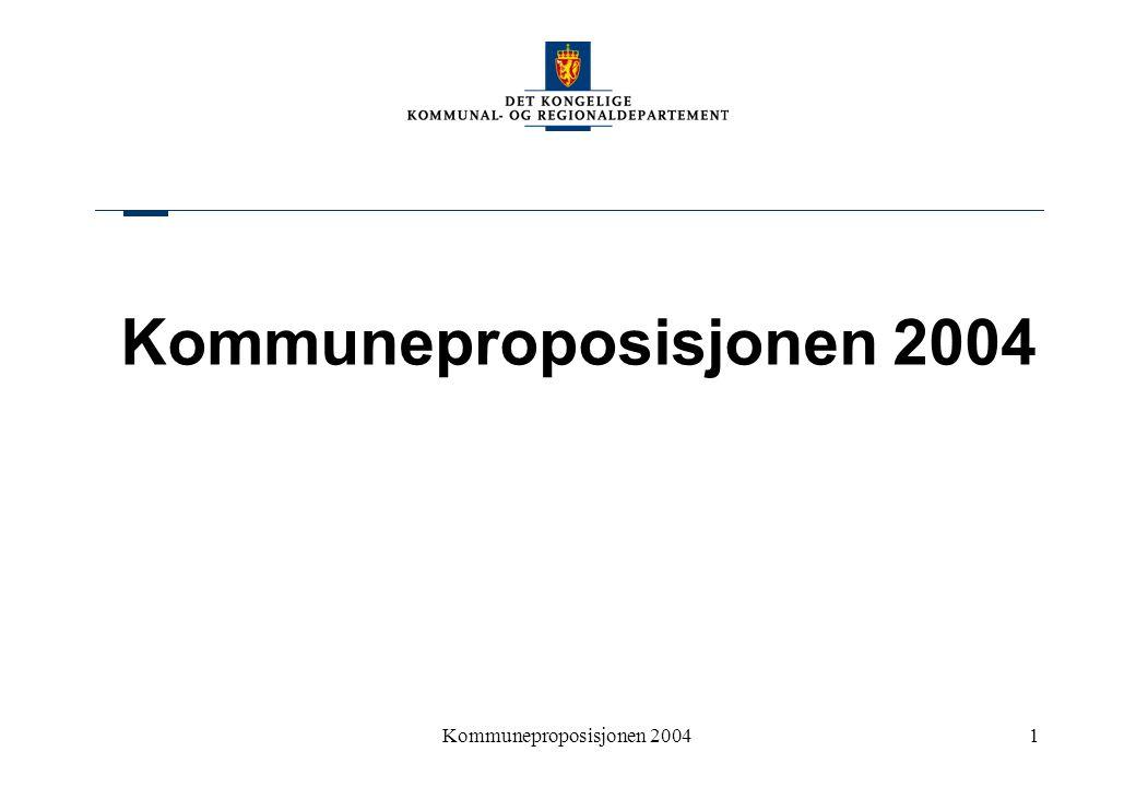 Kommuneproposisjonen 20041
