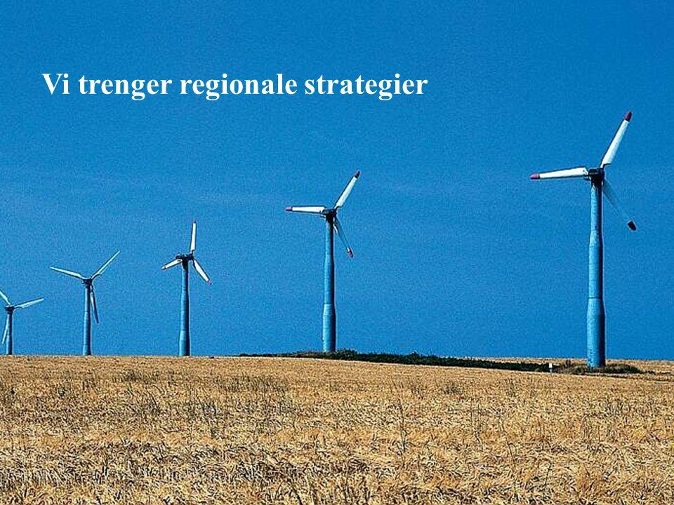 5 Vi trenger regionale strategier