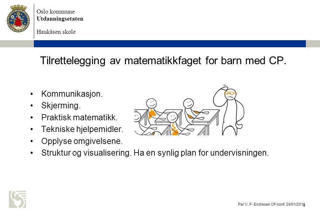 Oslo kommune Utdanningsetaten Haukåsen skole Kommunikasjon.