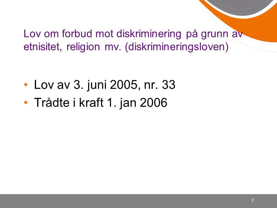33 Nemnda sak 18/2006 Boligannonse krevde norsk statsborgerskap for leie av bolig Det må kunne konstateres en negativ virkning av en viss betydning….