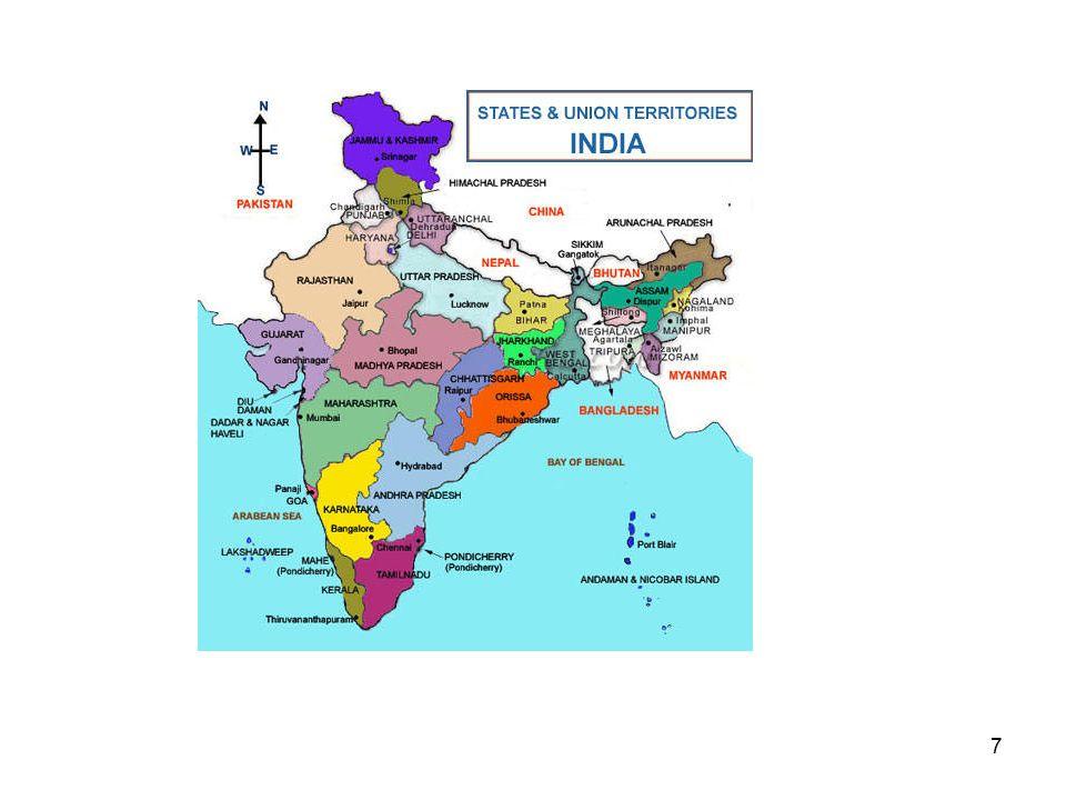 8 Fra slutten av 1800t: Økt religiøs bevissthet Erkjennelsen av tilhørighet til to store samfunn (communities): hinduer og muslimer The master cleavage Morley-Minto reformene 1909: Separate elektorater for hinduer og muslimer