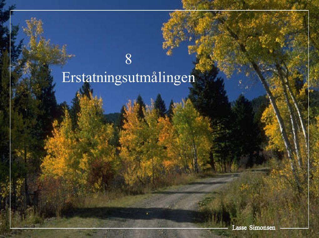 Lasse Simonsen 8 Erstatningsutmålingen Lasse Simonsen