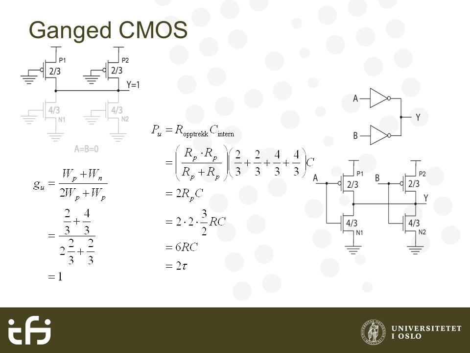 Ganged CMOS