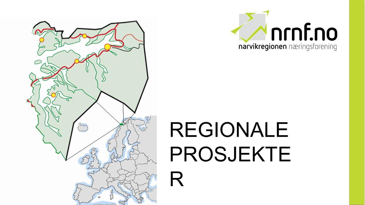 REGIONALE PROSJEKTE R