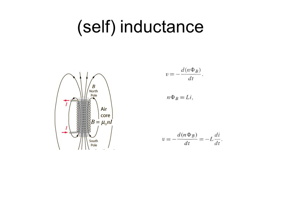 (self) inductance