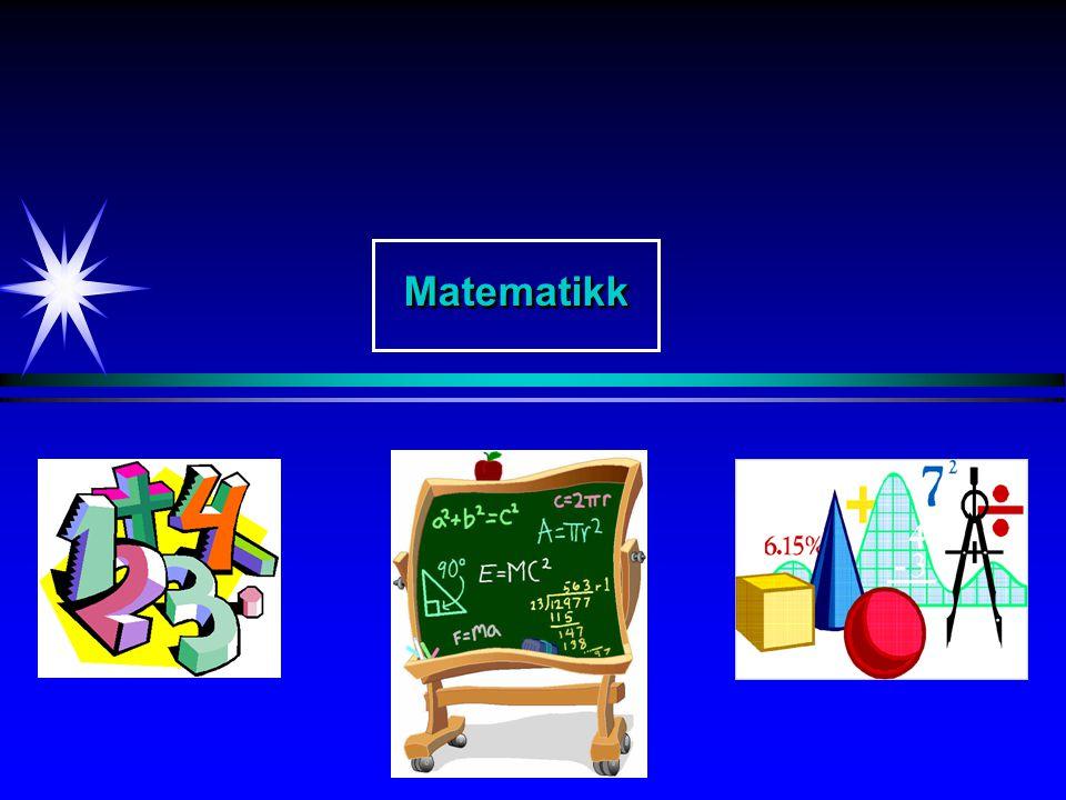 MatematikkMatematikk