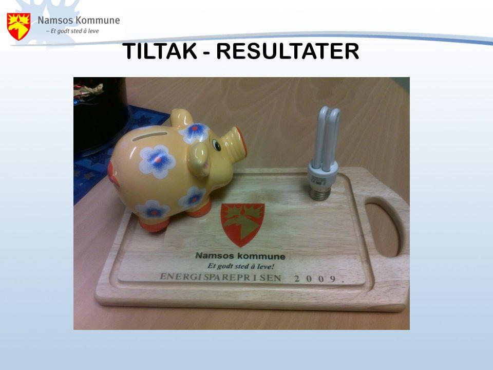 TILTAK - RESULTATER