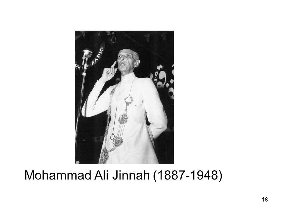 18 Mohammad Ali Jinnah (1887-1948)