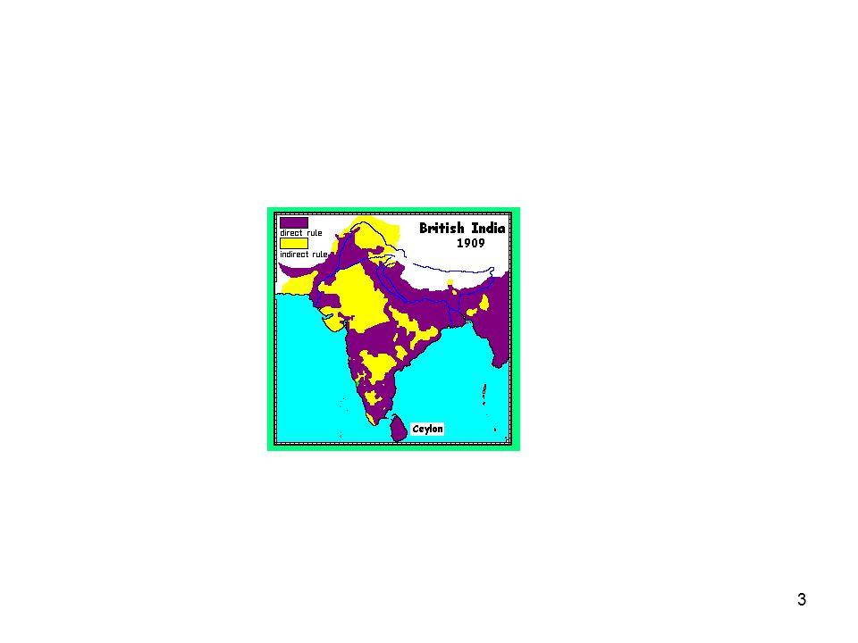 14 1947 Selvstendighet Subkontinentet delt i India og Pakistan (Partition) Pakistan delt i øst- og vest-Pakistan (Øst-Pak ble Bangladesh i 1972) I mill drept, 10 mill drevet på flukt: Hinduer til India, muslimer til Pakistan Delingen Gandhis største nederlag