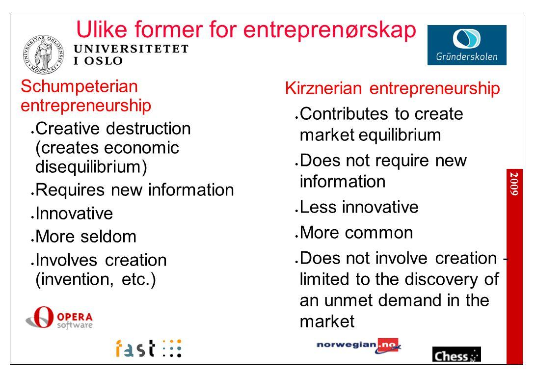 2009 Omfang av patentering fra norske offentlige forskningsmiljøer Kilde: Gulbrandsen et.al., 2006