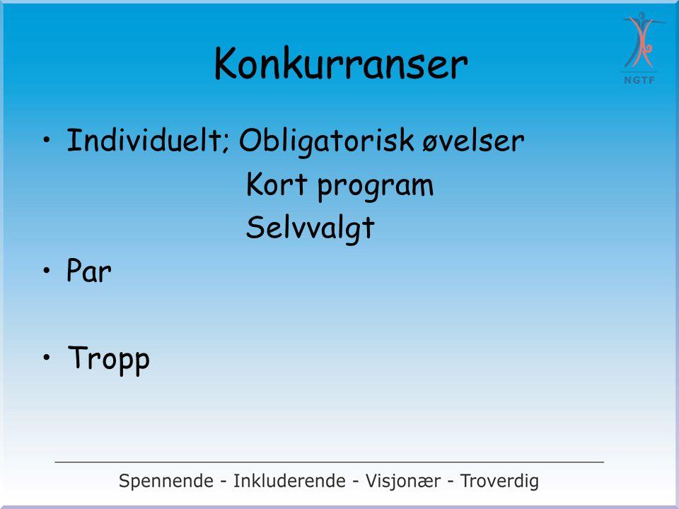 VM til Norge Norske utøvere får vist sitt beste Norske utøvere får oppleve VM og hente inspirasjon Norske dommere får internasjonal erfaring Inspirasjon til videre utvikling av grenen i Norge Høste erfaring med internasjonale arrangement