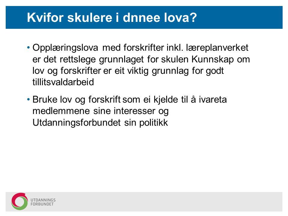 Kor finn eg gjeldande lover og forskrifter? www.lovdata.no