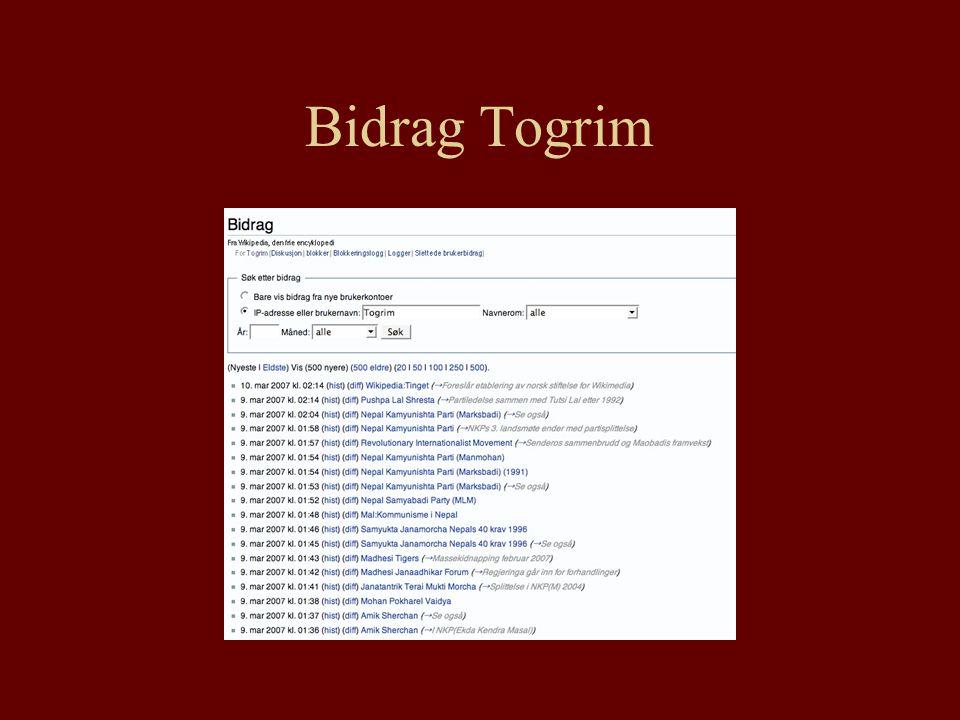 Bidrag Togrim