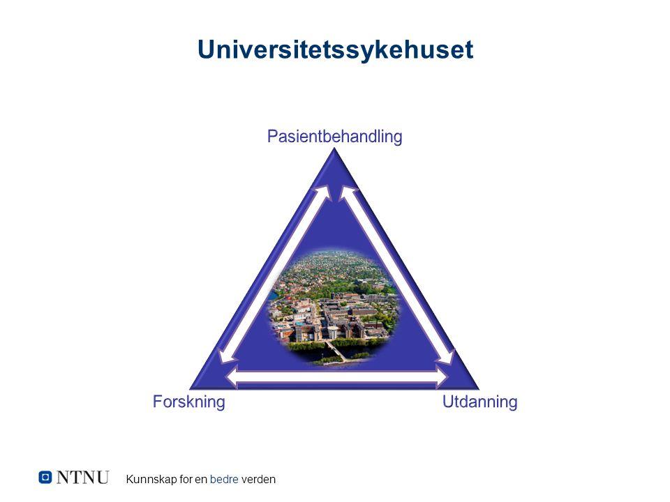 Kunnskap for en bedre verden Universitetssykehuset