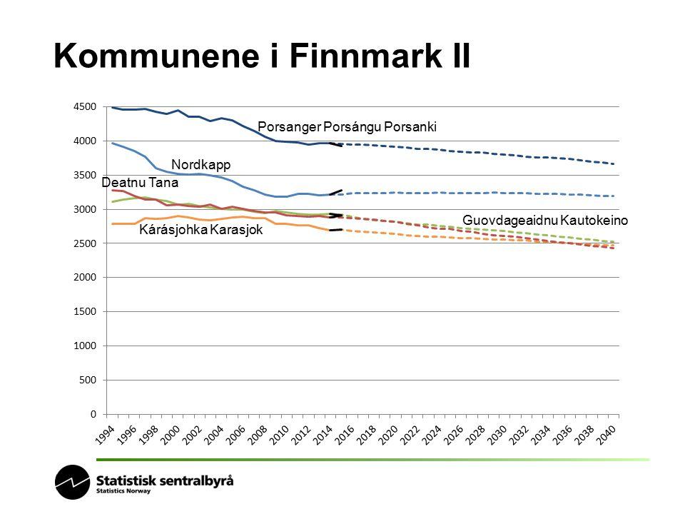 Kommunene i Finnmark II Porsanger Porsángu Porsanki Guovdageaidnu Kautokeino Nordkapp Deatnu Tana Kárásjohka Karasjok