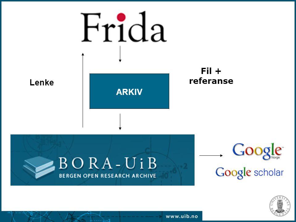 ARKIV Lenke Fil + referanse