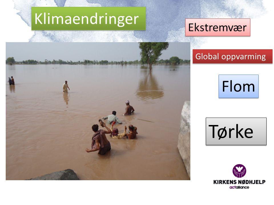 Klimaendringer Ekstremvær Global oppvarming Flom Tørke