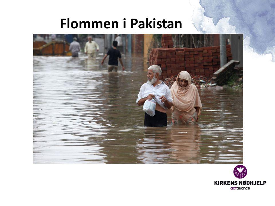 Flommen i Pakistan