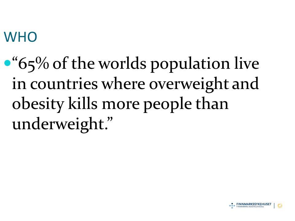 Hovedprosjektet Målsetting Evaluere om et nytt tilbud for barn med overvekt og fedme i familiegrupper var mer effektivt med hensyn til å oppnå livsstilsendring enn vanlig individuell oppfølging i barnepoliklinikk Overordnet mål: Øke kunnskapen om faktorer som fremmer livsstilsendring