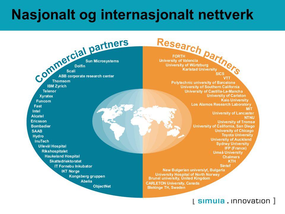 Nasjonalt og internasjonalt nettverk