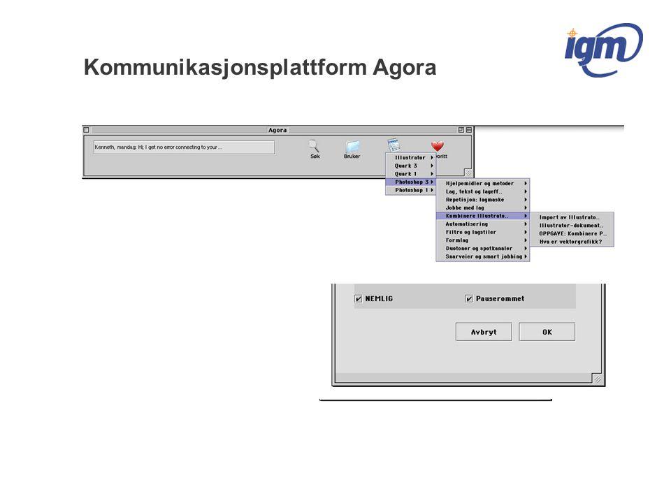 Kommunikasjonsplattform Agora