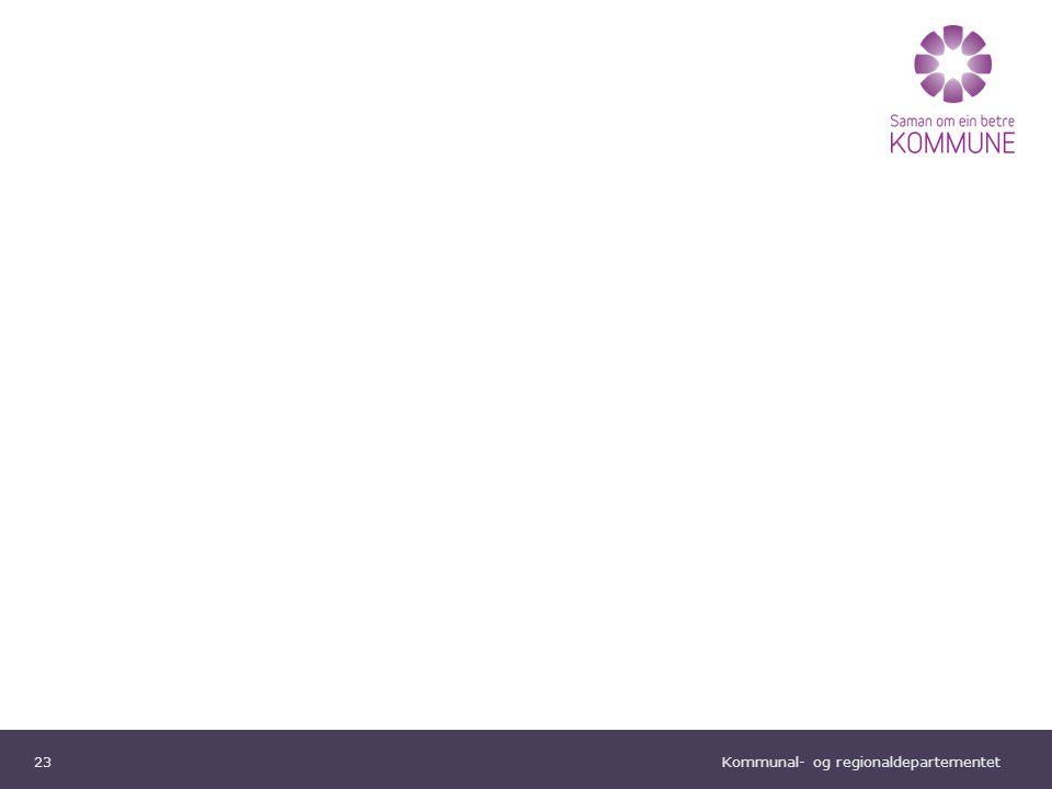 Kommunal- og regionaldepartementet Norsk mal: To innholdsdeler - Sammenlikning Tips farger: KRDs fargepalett er lagt inn i malen og vil brukes automatisk i diagrammer og grafer INNOVASJON SOM LØSNING Utvikling, realisering og spredning av nye ideer Omsorgskrisen skapes ikke av eldrebølgen.
