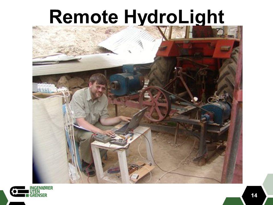 Remote HydroLight 14