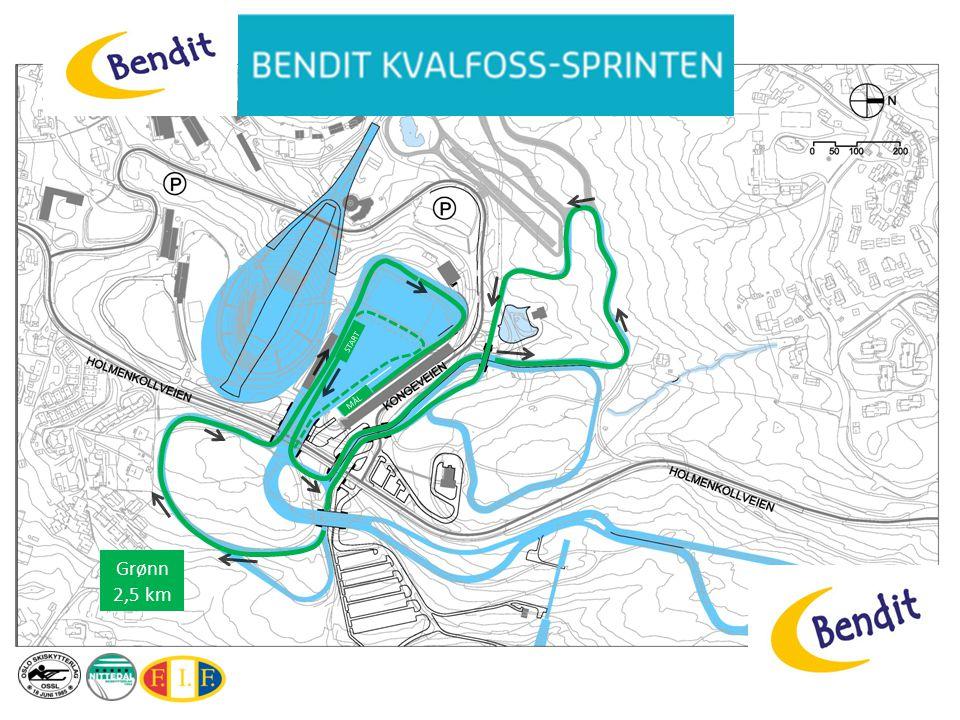 MÅL START Grønn 2,5 km