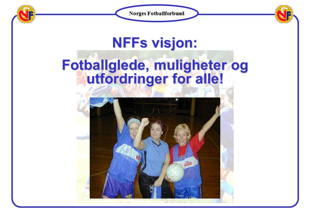 Norges Fotballforbund NFFs visjon: Fotballglede, muligheter og utfordringer for alle!