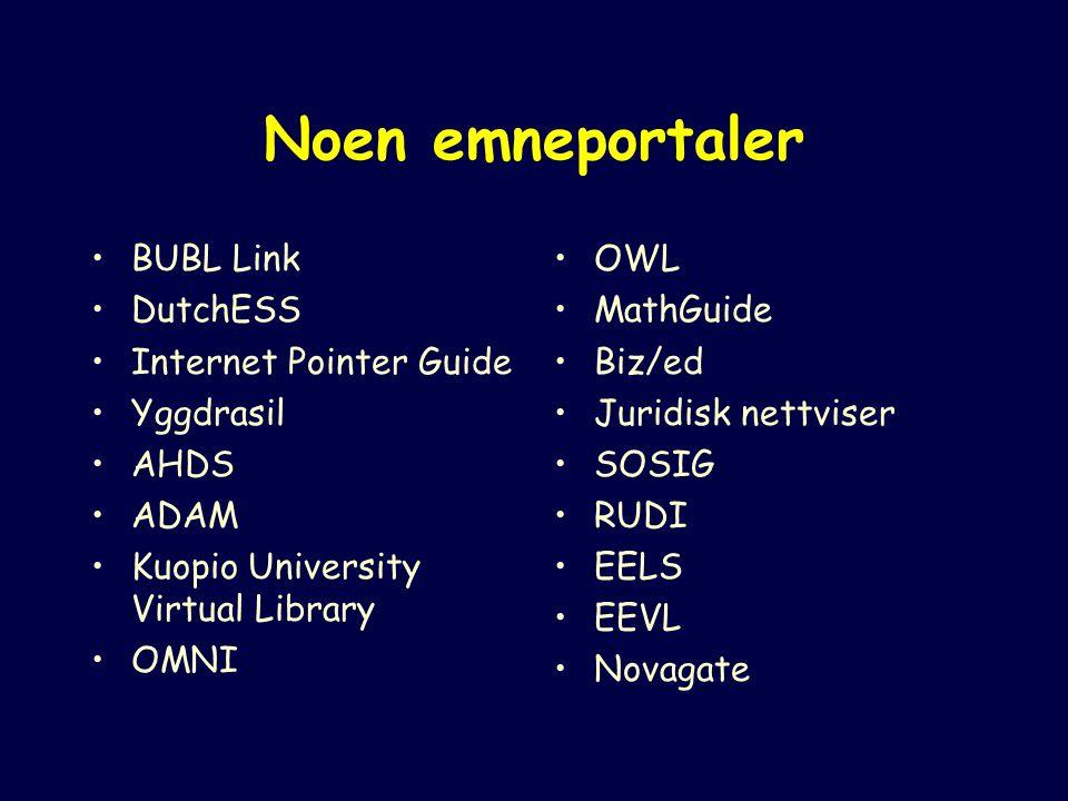 Emnehierarkiets 1.