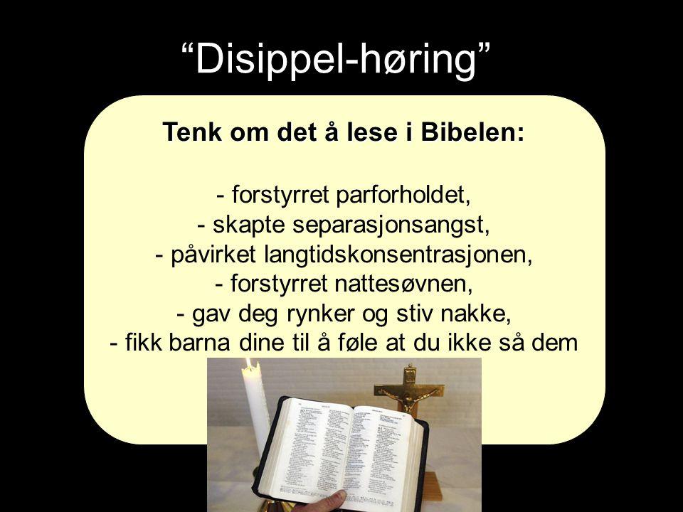 Disippel-høring