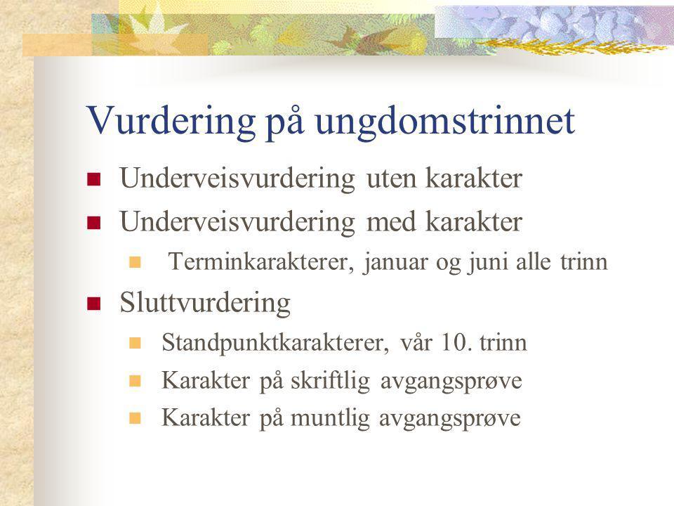 Forskrift til opplæringsloven: § 3-1.