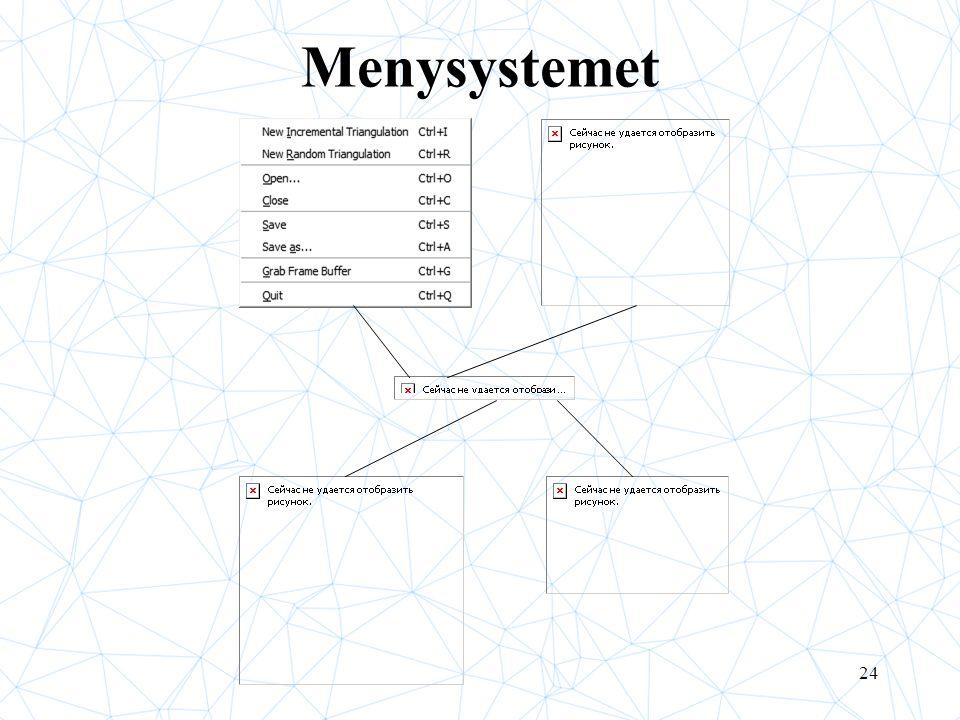 24 Menysystemet