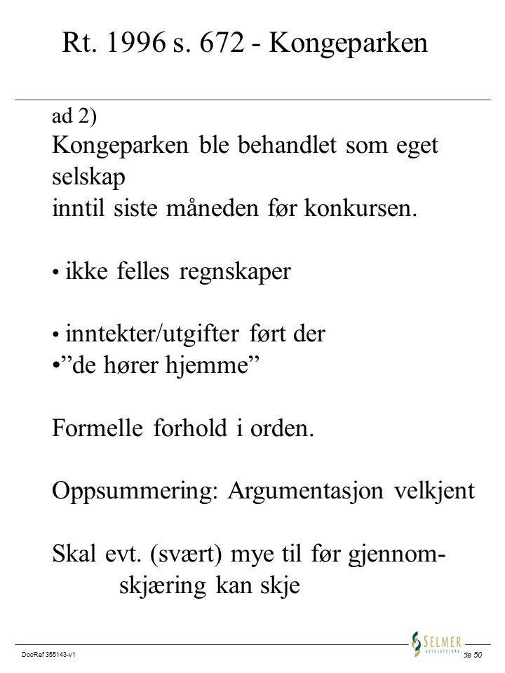 Side 50 DocRef 355143-v1 Rt.1996 s.