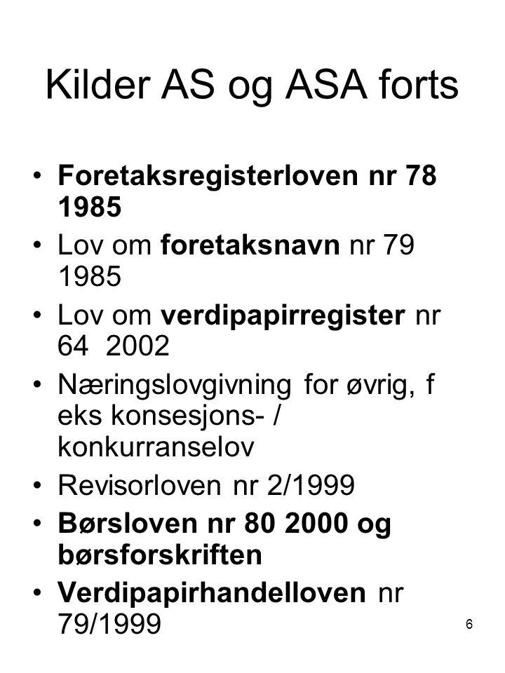 127 Selskapskapitalen Egenkapital = Eiendeler ÷ Gjeld HVILKE REGNSKAPSPOSTER UTGJØR SELSKAPSETS BUNDNE EGENKAPITAL.