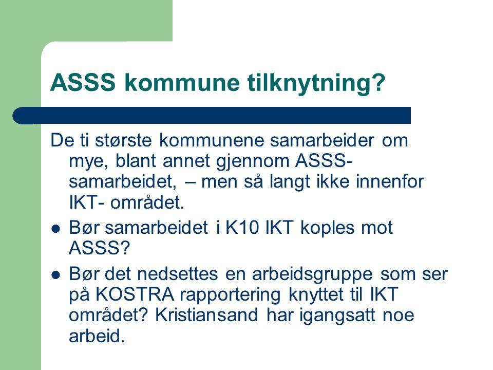 ASSS kommune tilknytning.