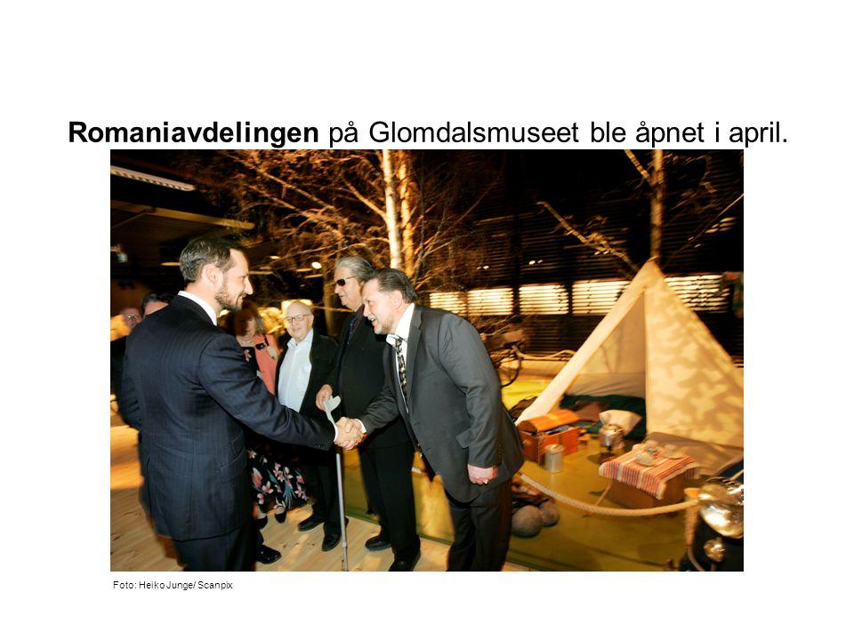 Romaniavdelingen på Glomdalsmuseet ble åpnet i april. Foto: Heiko Junge/ Scanpix