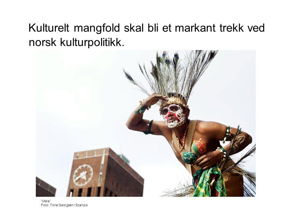 Kulturelt mangfold skal bli et markant trekk ved norsk kulturpolitikk.