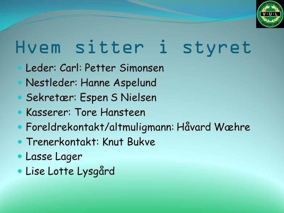 Årsklasse 2004 Trenere: Knut Øksby og Hans Martin Sand Treningstid: Tirsdager klokken 18.30 til 19.30 Sted: Montessorri Nærmere info kommer fra de.