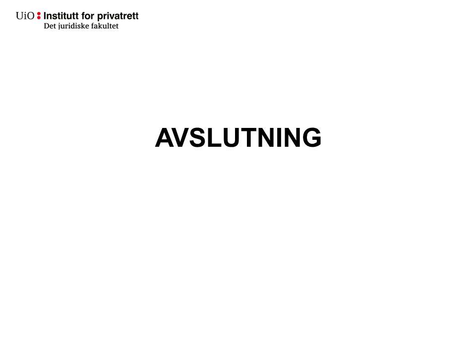 AVSLUTNING