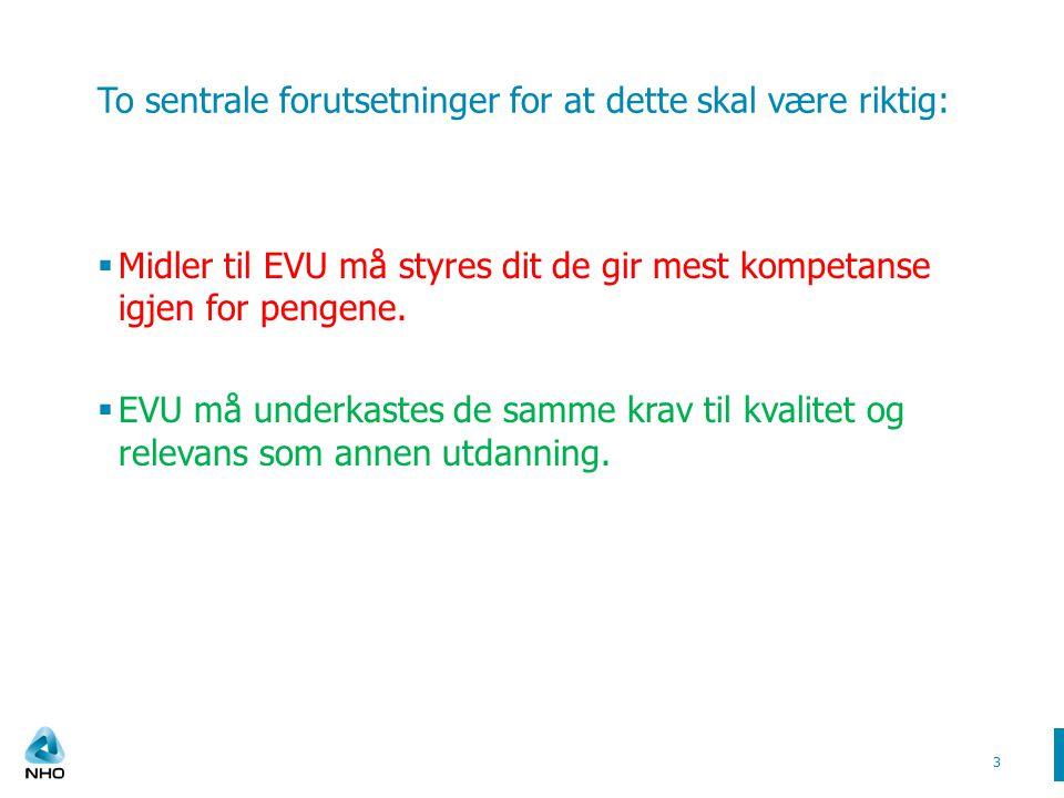  Hva er de viktigste driverne i utviklingen av EVU.