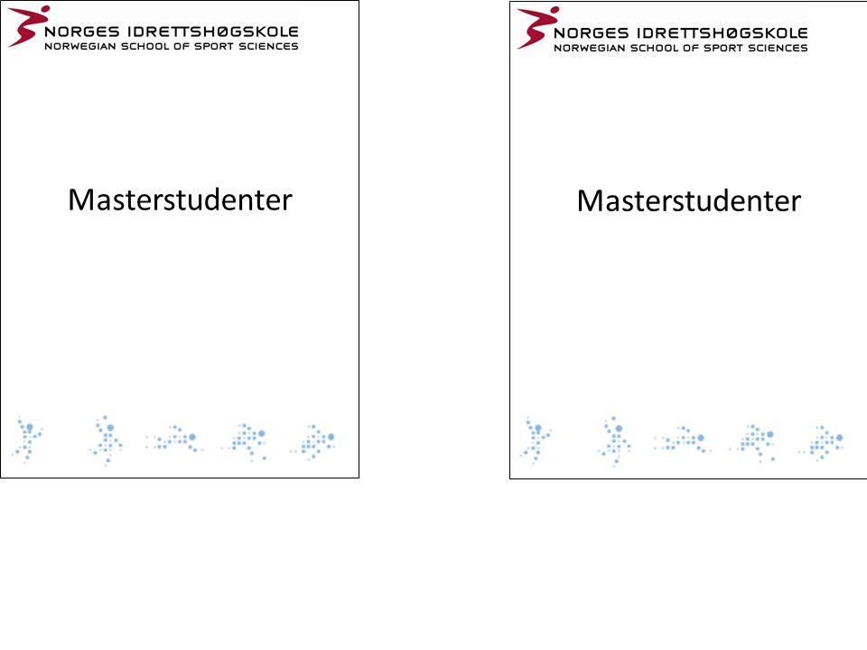 Masterstudenter