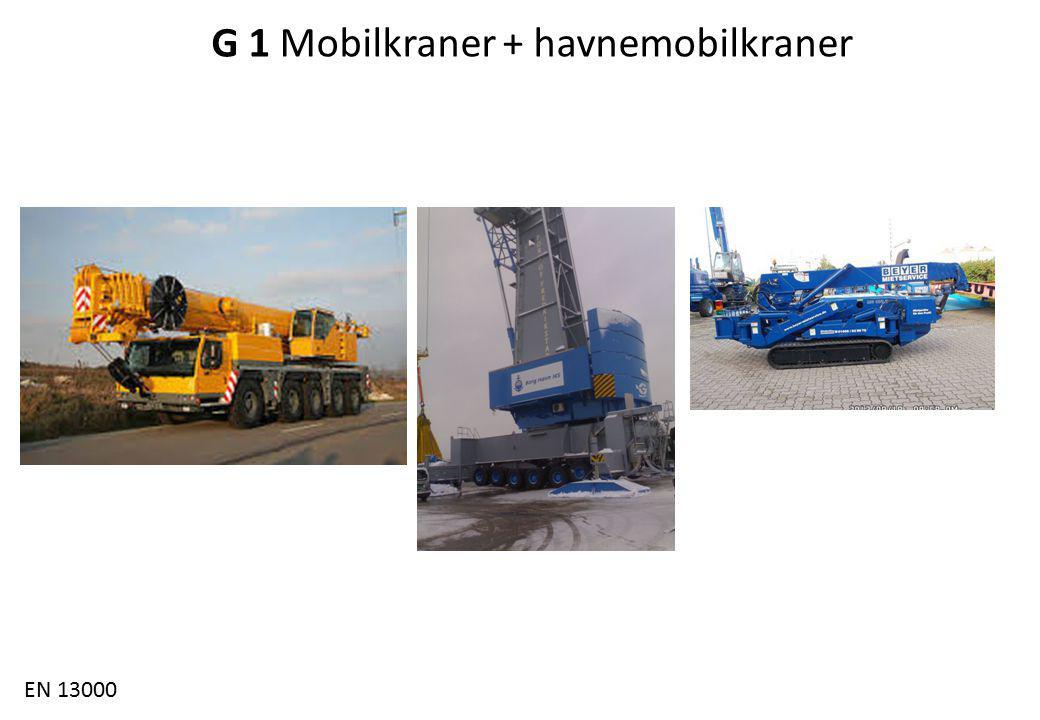 Fagforum 4.3.2014 G 1 Mobilkraner + havnemobilkraner EN 13000
