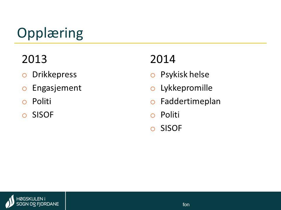 Tom Rune Kongelf Felt for: Navn Navnesen ∙ stilling ∙ e-postadresse ∙ telefon Kva var nytt i 2014.