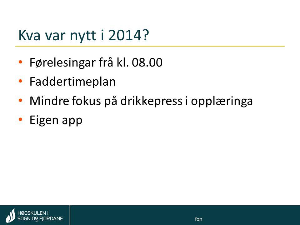Tom Rune Kongelf Felt for: Navn Navnesen ∙ stilling ∙ e-postadresse ∙ telefon Kva ynskjer studentane.
