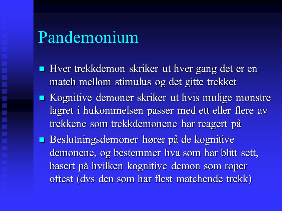 The Story  Once upon a time there was Pandemonium.  In Pandemonium there dwelt many very ugly and intelligence challenged (a.k.a. stupid) demons. 